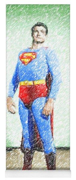 Superman Yoga Mat