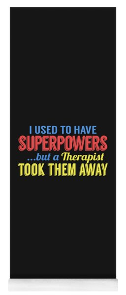 Superpowers Yoga Mat