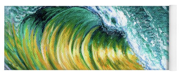 Surf Into The Sunset Yoga Mat
