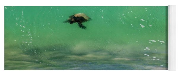 Surfing Turtle Yoga Mat