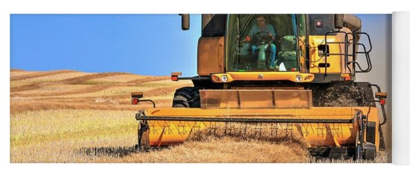 Swathing In A Holland Yoga Mat