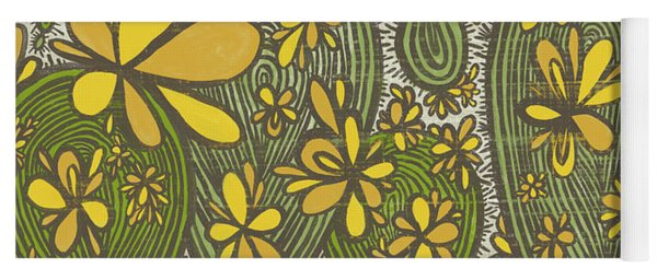 Sweet April Showers Do Bring May Flowers Thomas Tusser Quote Yoga Mat