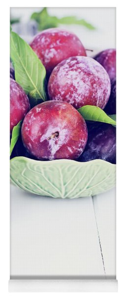 Sweet Plums Yoga Mat