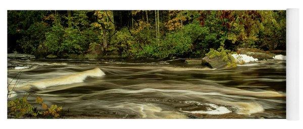 Swirling River Yoga Mat