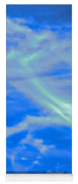 Yoga Mat featuring the photograph Sylph Party by Judy Kennedy