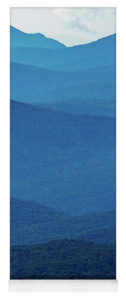Table Rock And Hawksbill  Mountain - Linville North Carolina - Blue Ridge Parkway Yoga Mat