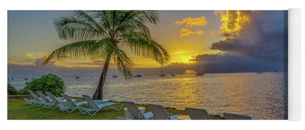 Tahiti Sunset Yoga Mat