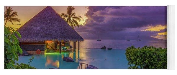 Tahitian Sunset Yoga Mat
