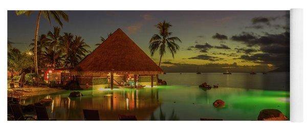 Tahitian Twilight Yoga Mat