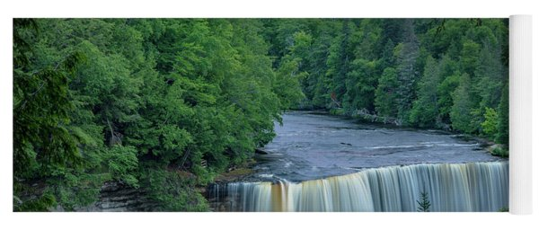 Tahquamenon Falls Sunset. Yoga Mat