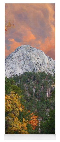Tahquitz Peak - Lily Rock Painted Version Yoga Mat