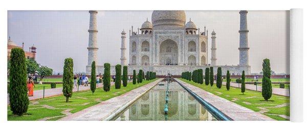 Taj Mahal Agra India Yoga Mat