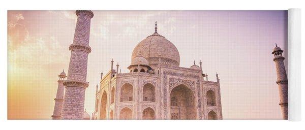 Taj Mahal Side View Yoga Mat