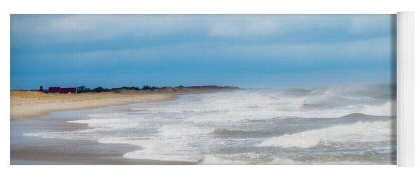 Take Me To Your Beach Town Yoga Mat