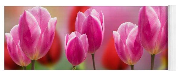 Tall Tulips Yoga Mat