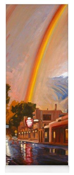 Taos Rainbow Yoga Mat