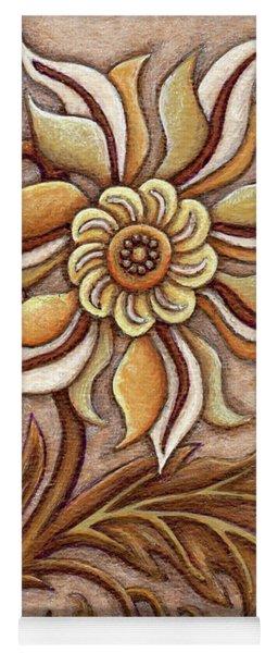 Tapestry Flower 1 Yoga Mat