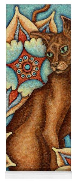 Tapestry Cat Yoga Mat
