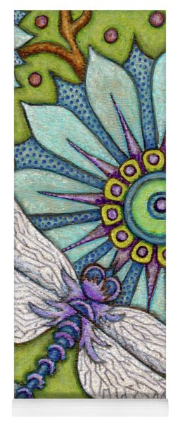 Tapestry Dragonfly Yoga Mat
