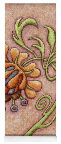 Tapestry Flower 10 Yoga Mat
