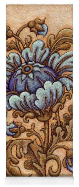 Tapestry Flower 5 Yoga Mat