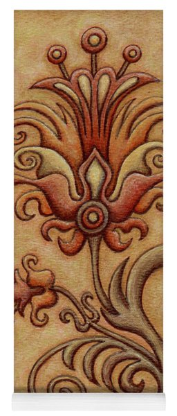 Tapestry Flower 7 Yoga Mat