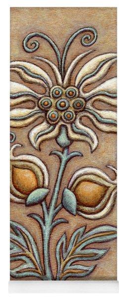 Tapestry Flower 9 Yoga Mat