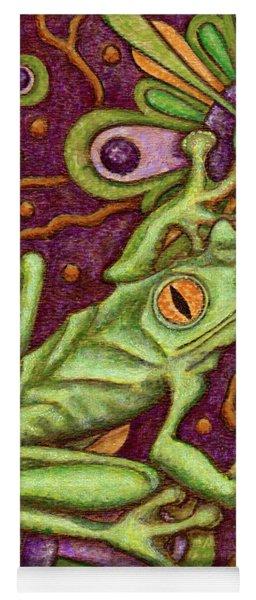 Tapestry Frog Yoga Mat