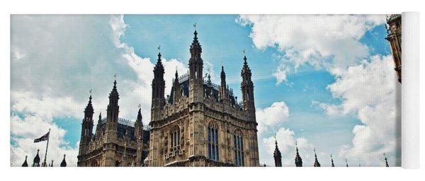 Tea Time With Big Ben At Westminster II Yoga Mat