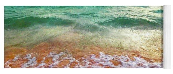 Teal Shore  Yoga Mat