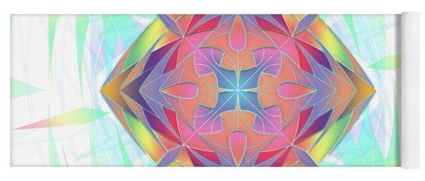 Techno Fantasy Yoga Mat