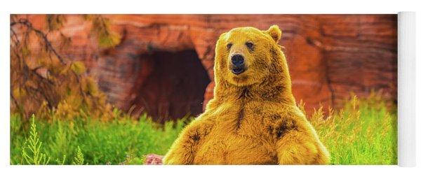 Teddy Bear Yoga Mat