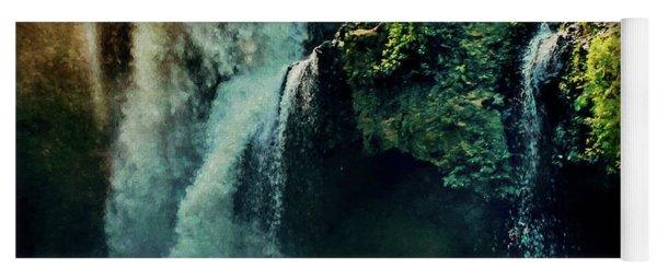 Tegenungan Waterfall In Bali Yoga Mat