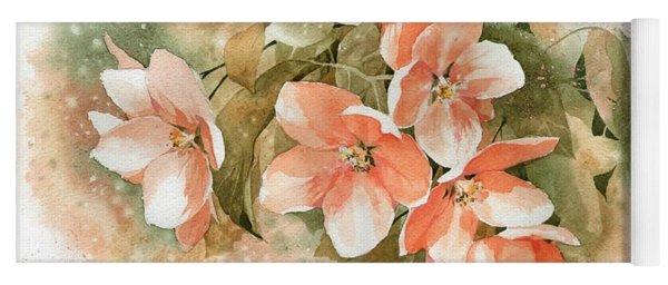 Tender Blossom Of Apple Tree Yoga Mat