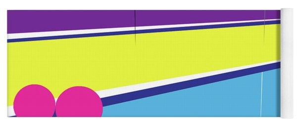 Tennis In Abstraction Yoga Mat