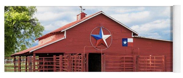 Texas Red Barn Yoga Mat