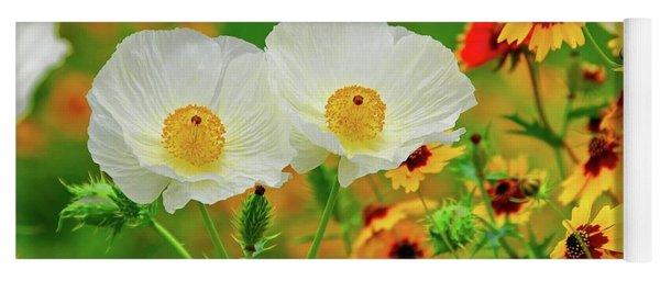 Texas Wildflowers Yoga Mat