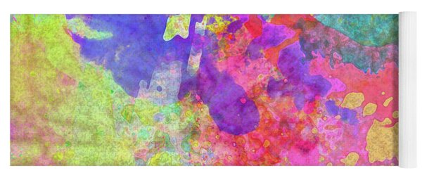 Yoga Mat featuring the photograph Thank You So Much Hibiscus Abstract by Kay Brewer