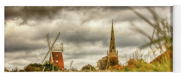 Thaxted Windmill And Church Yoga Mat