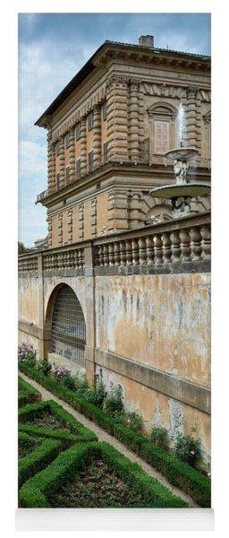 The Back Of The Pitti Palace Yoga Mat
