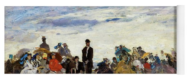 The Beach At Trouville - Digital Remastered Edition Yoga Mat