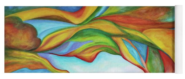 The Beginning. Colorful. Colorful And Over 30 Monochromatic. Yoga Mat