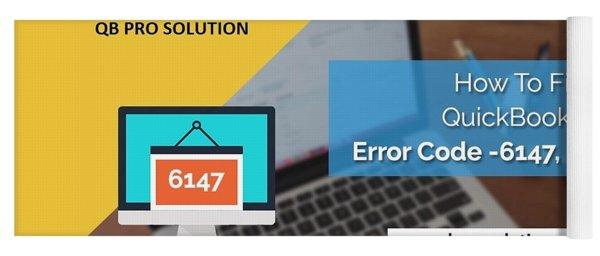 The Best Expert Resolve Quickbooks Error 6147,0 Yoga Mat