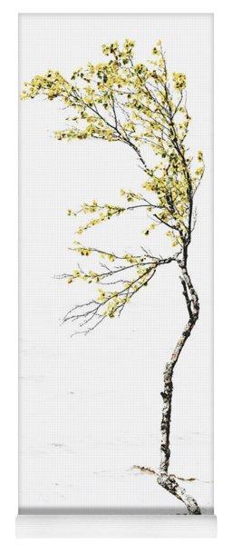The Birch Tree Yoga Mat