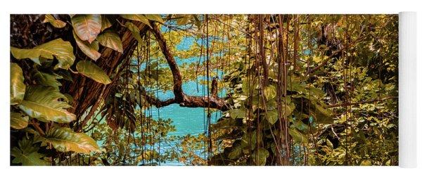 The Blue Lagoon Yoga Mat