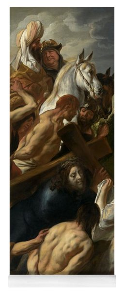 The Carrying Of The Cross, 1657 Yoga Mat
