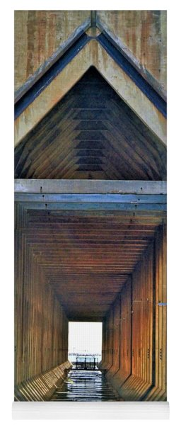 The Cathedral Ore Dock Of Marquette Yoga Mat