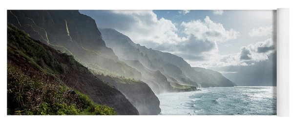 The Cliffs Of Kalalau Yoga Mat