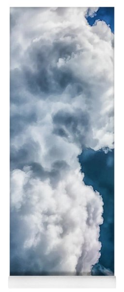 The Cloud Giant Awaits Yoga Mat