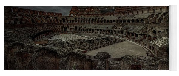 The Coliseum Interior Yoga Mat